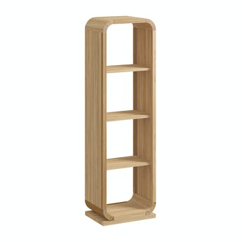 Reeves Oscar oak large shelving unit
