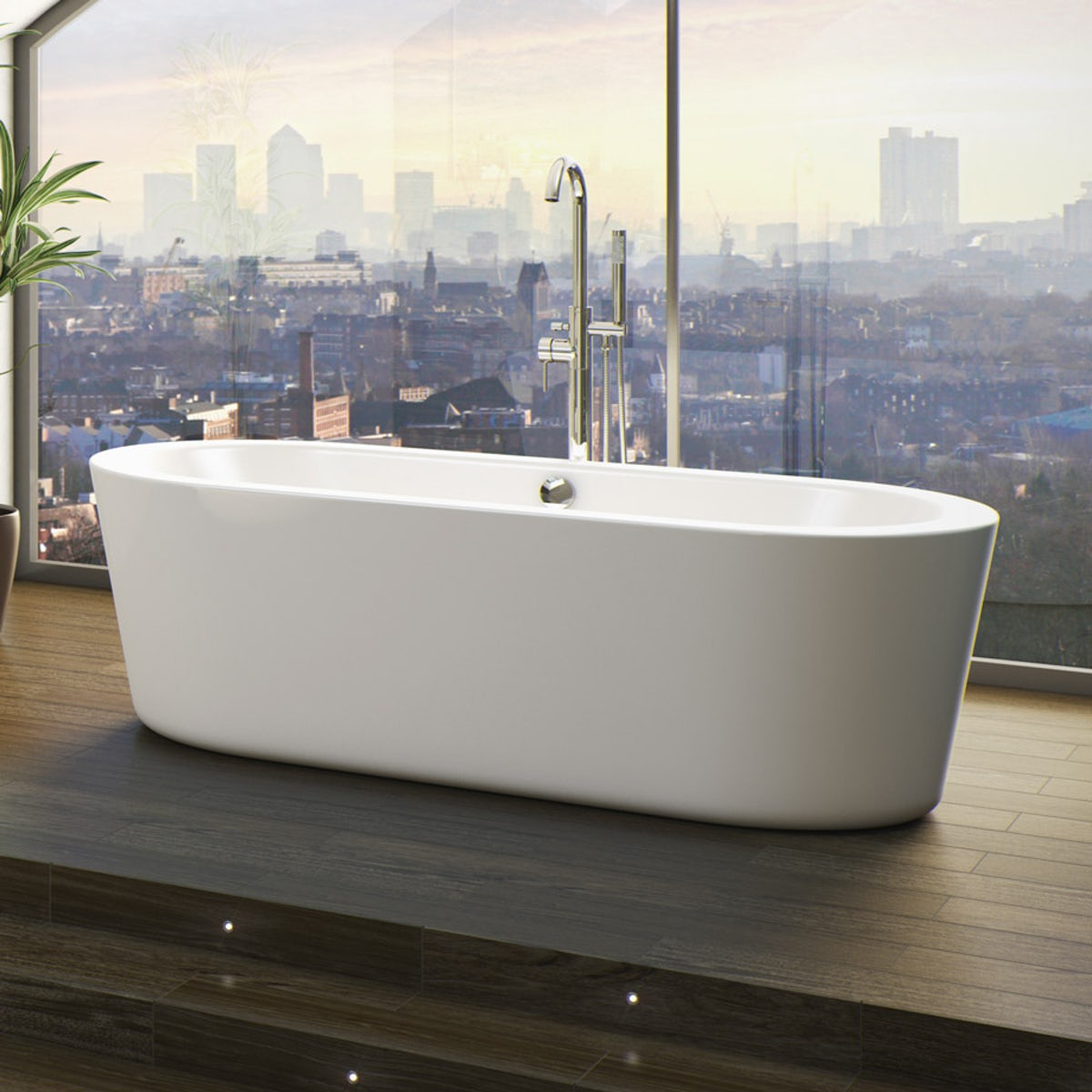 Orchard wharfe freestanding bath for Small baths 1200
