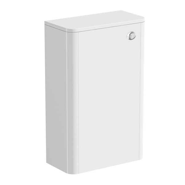 Carter ice white back to wall toilet unit