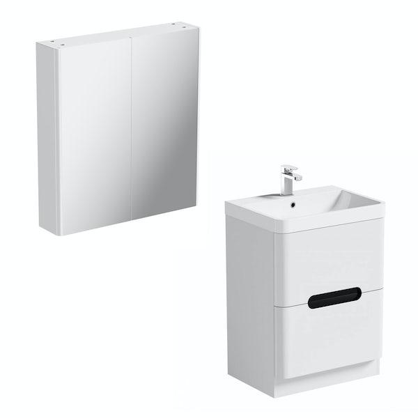 Mode Ellis essen vanity unit 600mm and mirror cabinet offer