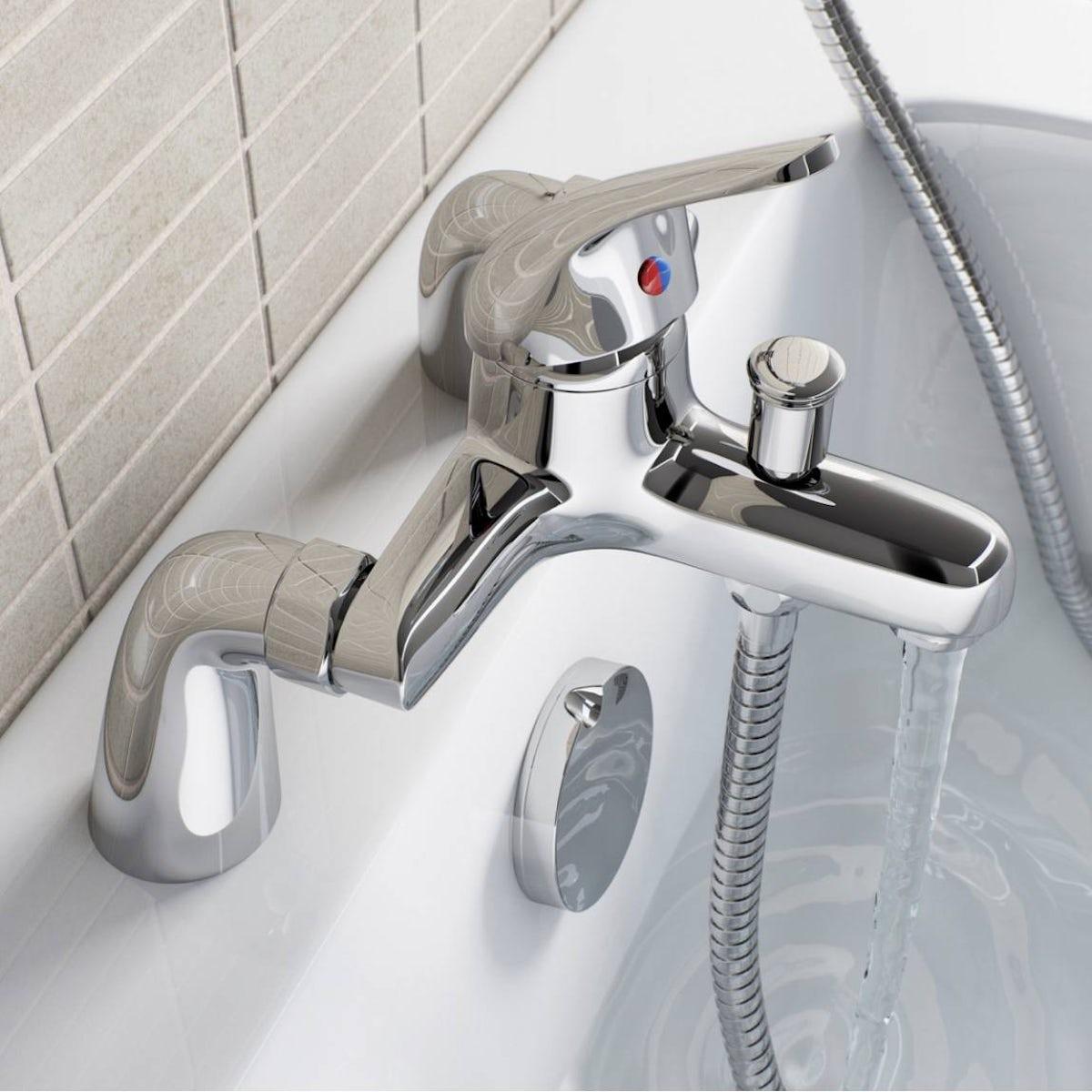 clarity pulse single lever bath shower mixer tap victoriaplum com pulse single lever bath shower mixer