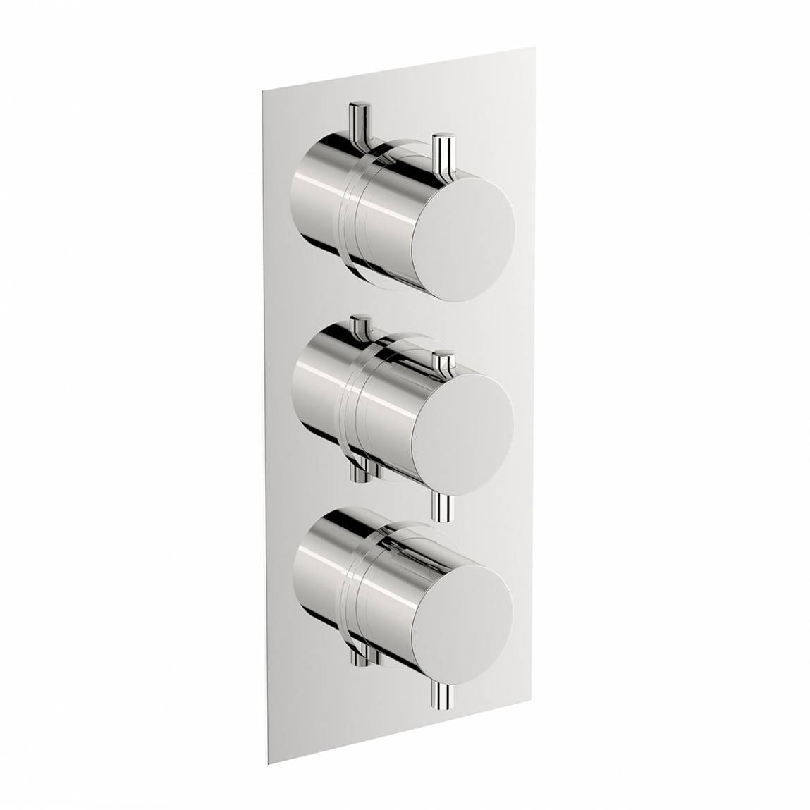 Mode Matrix square triple thermostatic shower valve offer pack