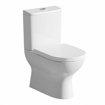 Fairbanks Close Coupled Toilet inc Luxury Soft Close Seat Special Offer