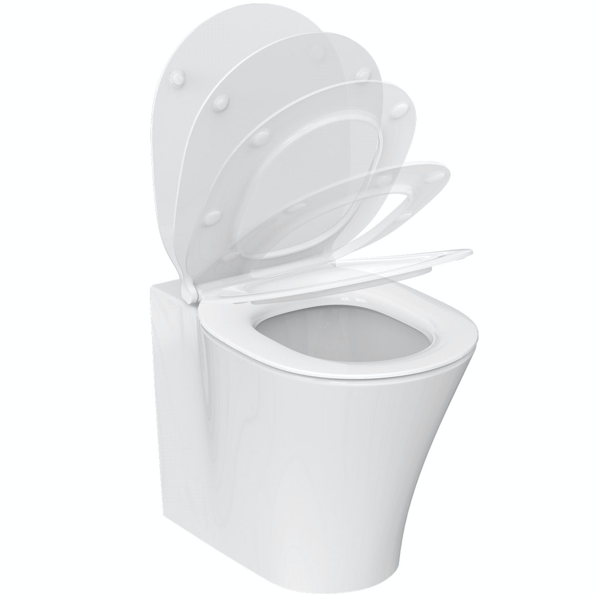 Ideal Standard Concept Air back to wall toilet with soft close toilet seat