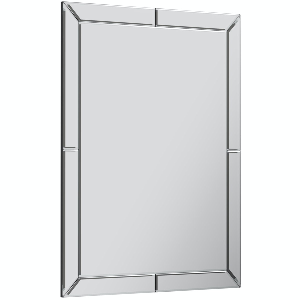 The Bath Co. Beaumont rectangular wall mirror 800 x 600mm