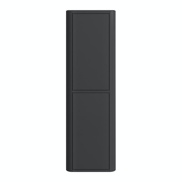 Carter pebble grey tall wall cabinet
