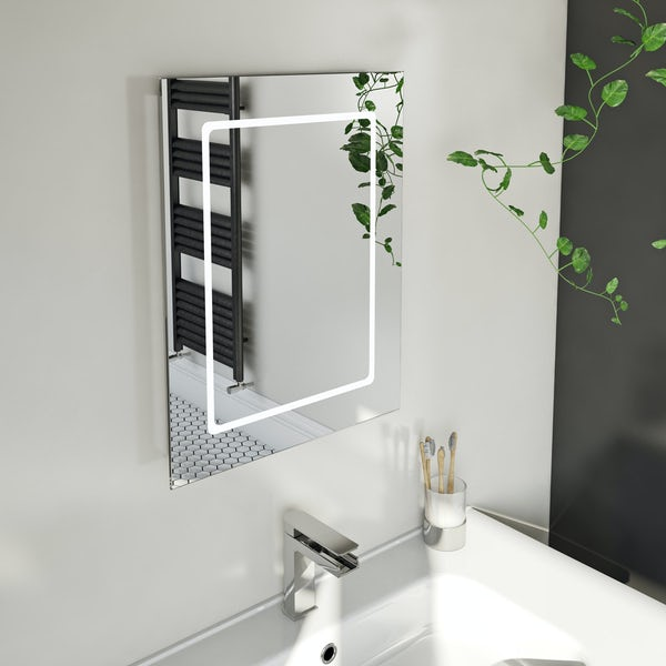 Mode Grayson LED mirror with demister 390 x 500