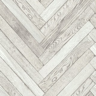 Distinctive 4 Parquet Wood - White