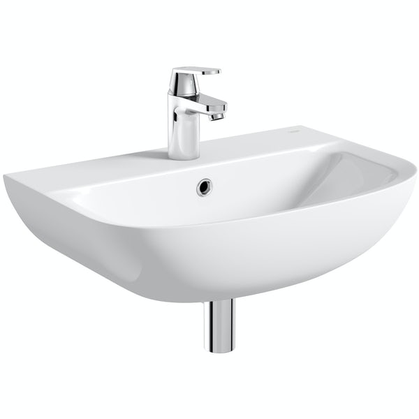 Kineduo independent living left handed complete shower bath suite 1700 x 750