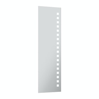 Radiant full length rectangular LED mirror