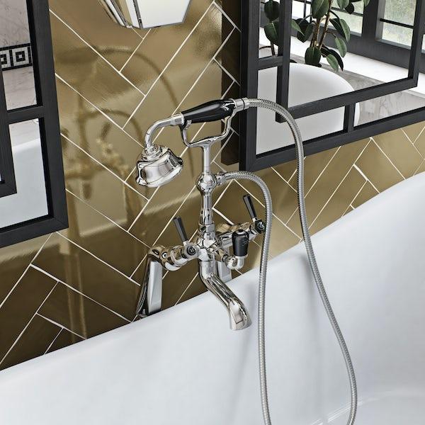 The Bath Co. Beaumont lever bath shower mixer tap  VictoriaPlum.com