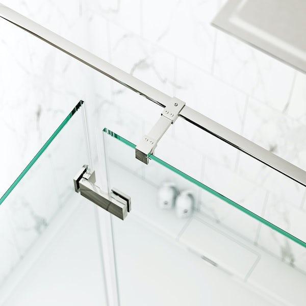 Cooper 8mm Hinged Easy Clean Shower Door