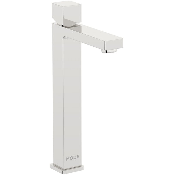 Mode Austin high rise basin and 4 hole bath shower mixer tap pack