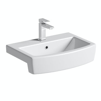 Montreal Semi Recessed Basin