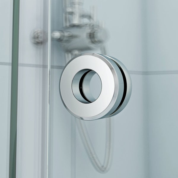 Mode Infiniti 8mm quadrant shower enclosure | VictoriaPlum.com