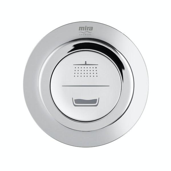 Mira Mode dual digital shower and bath filler standard