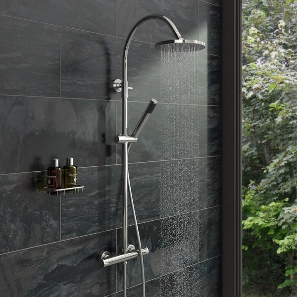 Orchard Eden complete ensuite with quadrant enclosure and tray