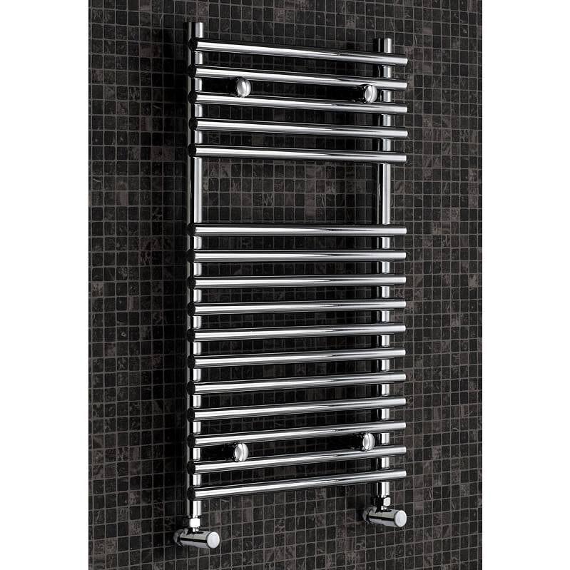 Tubular Heated Towel Rail 750 x 450