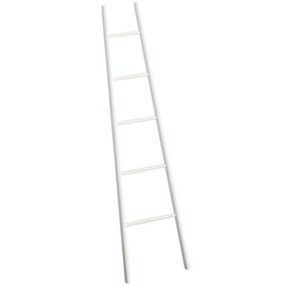 South Bank white towel ladder