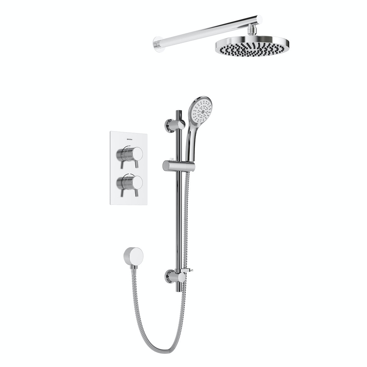 Bristan Prism concealed thermostatic shower set