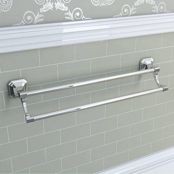 Camberley Double Towel Rail