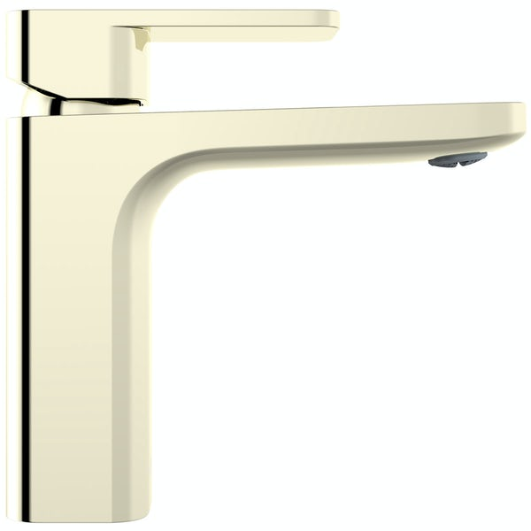 Mode Spencer square gold basin mixer tap
