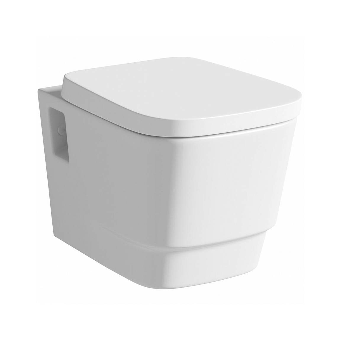 Mode Foster wall hung toilet with soft close seat
