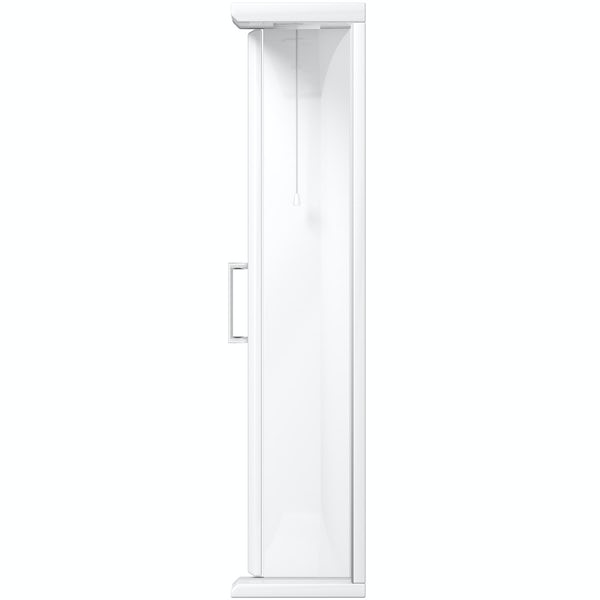 Eden white illuminated mirror 1050mm