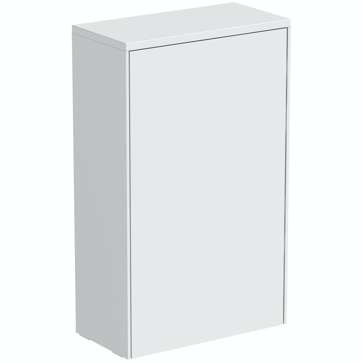 Mode Austin white back to wall toilet unit