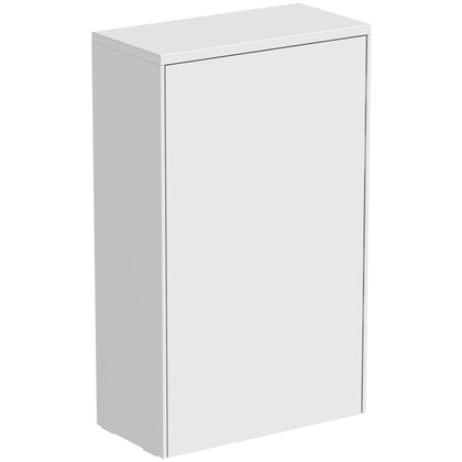 Mode Austin white back to wall toilet unit