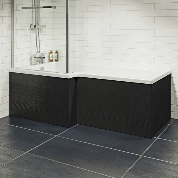Wye essen boston shower bath panel pack 1700 x 700mm