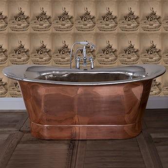 Belle de Louvain Rembrandt copper and nickel bath