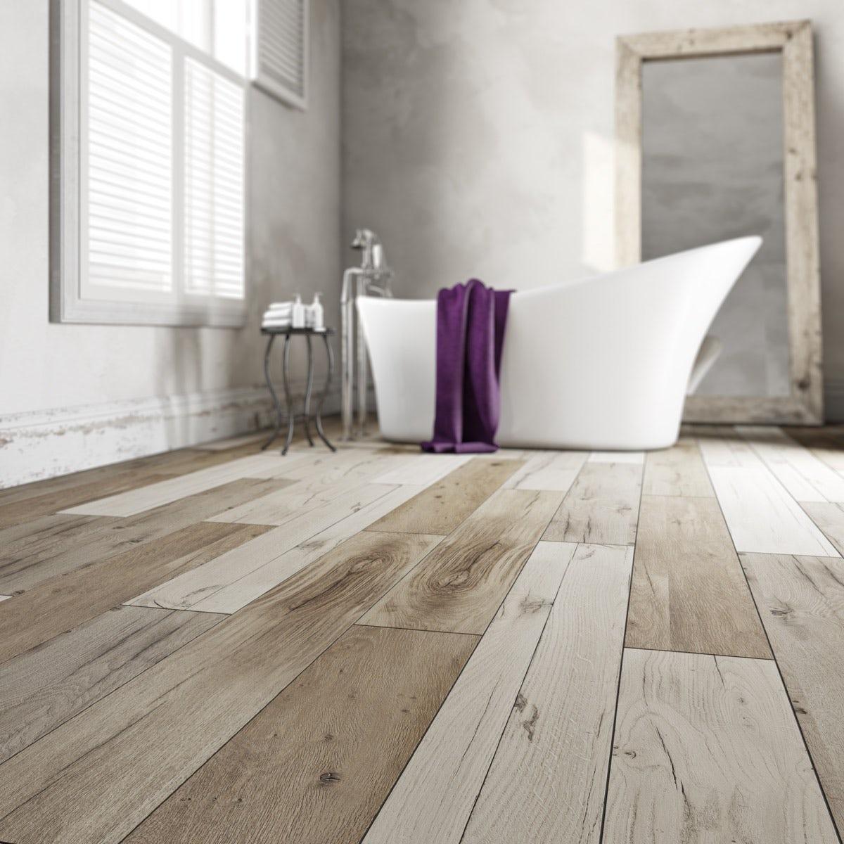 Krono xonic true grit waterproof vinyl flooring for Waterproof bathroom flooring