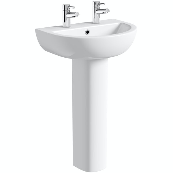 Elena 550 2TH Basin and Pedestal
