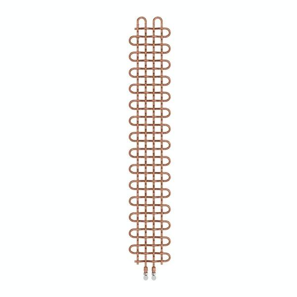 PLC copper vertical radiator 1580 x 263