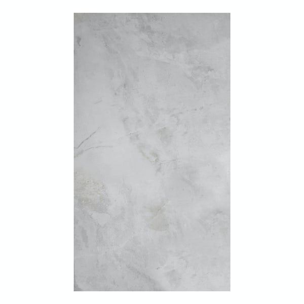 British Ceramic Tile Earth silver gloss wall tile 298mm x 598mm