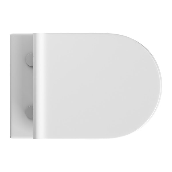 Mode Harrison wall hung toilet inc slimline soft close seat and wall mounting frame