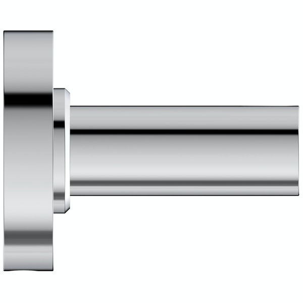 Ideal Standard IOM chrome towel rail 600mm