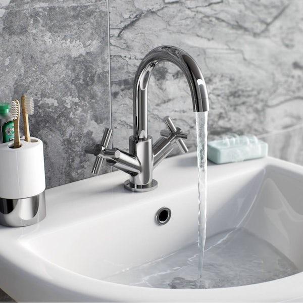 Tate Basin and Bath Mixer Pack