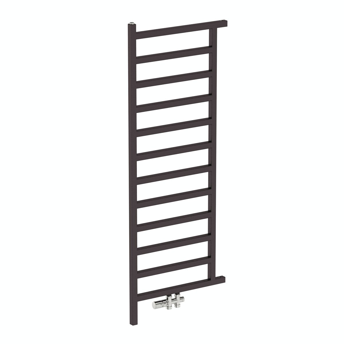 Simple meteor black heated room divider 1515 x 500