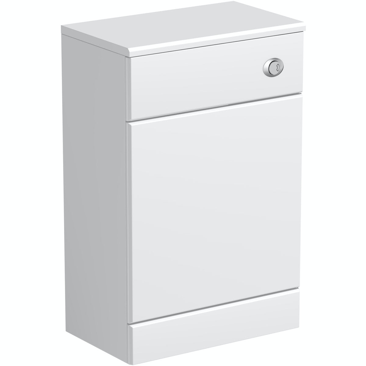 Orchard Eden white slimline back to wall toilet unit