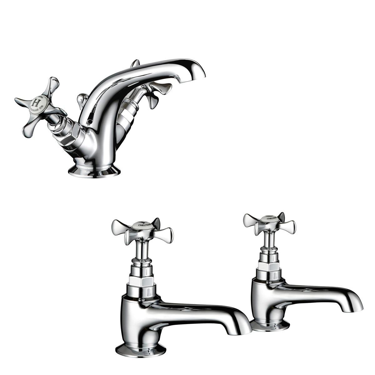 Mira Virtue basin mixer and bath tap pack