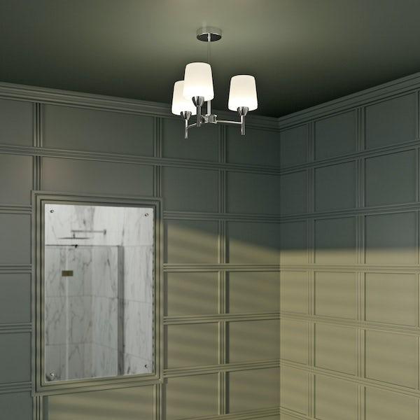 Forum Helios 3 light bathroom ceiling light