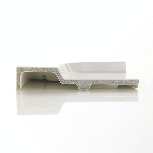 Mira Flight Safe low level anti-slip square shower tray