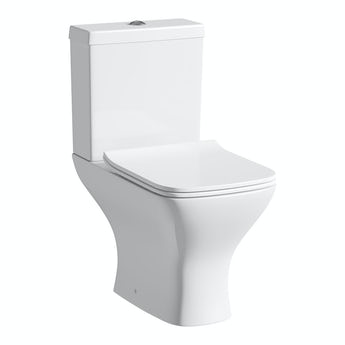 Orchard Derwent square compact close coupled toilet with slimline soft close toilet seat
