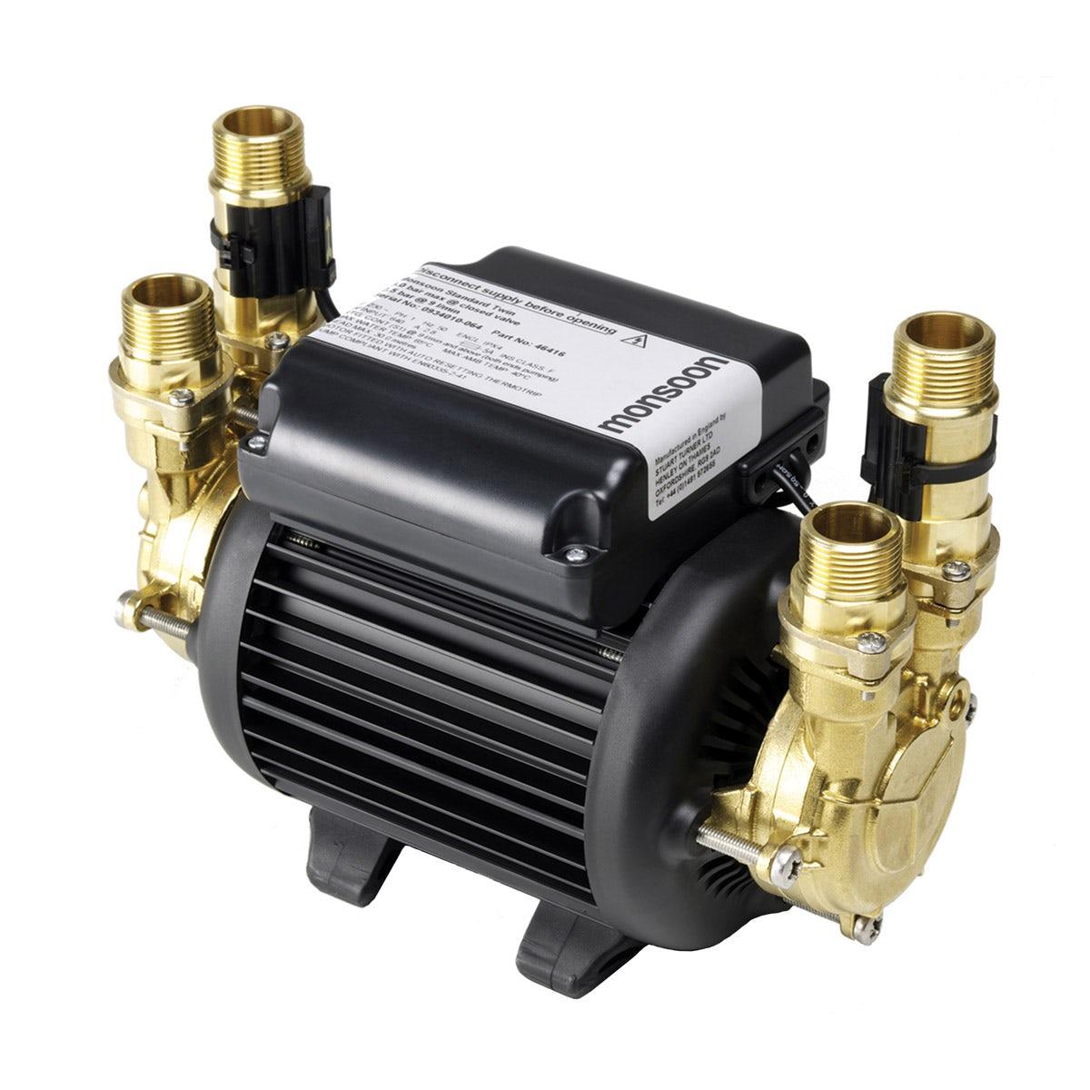 Stuart Turner Monsoon standard 2.0 bar twin shower pump