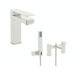 Mode Newport basin and bath shower mixer tap pack