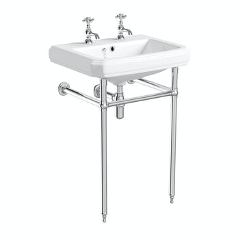 The Bath Co. Traditional washstand with Dulwich basin