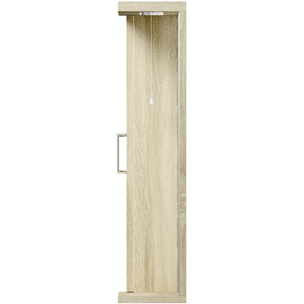 Eden oak illuminated mirror 1200mm