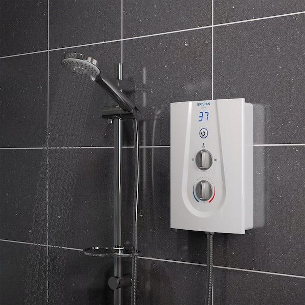 Bristan Glee 8.5kw electric shower white